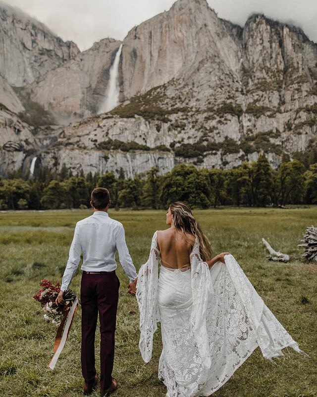 SO. what do you do if you love the concept of eloping, but still want to have your family involved in your wedding day? - DO BOTH - you don't have to pick on or the other: there are so many ways to combine an elopement with some parts of a more traditional wedding - here are a few ideas on how you can combine both experiences for the PERFECT wedding day: 1. have your private elopement/vow ceremony the day before your wedding, whether you want to elope at a destination or close to home, you can turn it into a two-day event, doing exactly what you want the first day and celebrating with everyone and having a intimate wedding ceremony the next day 2. elope at your dream destination, and when you come back, have a party to celebrate with loved ones 3. bring your family and closest friends along for your elopement, but also be sure to make time for just the two of you- you could have a first look privately or a vow ceremony, there are plenty of ways to have some intimate moments during your elopement while also having your family and friends around to experience it with you - one of the most important parts about eloping is choosing to do EXACTLY what you want on your wedding day. - think about the exact moment you put your BEAUTIFUL wedding dress on, your hair and makeup look stunning and you're about to see your partner for the first time. Who do you want with you in that moment and on that day? If you know you just want your significant other there, then PERFECT, just make it about the two of you. But if you want your mother or your best friend or your sister or dad there in that moment, that's perfectly okay too, pick what will make you happiest on your wedding day - you deserve to have everything you want on the day you get married.