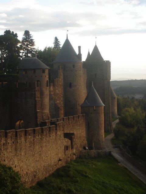Carcassone Medieval Ville