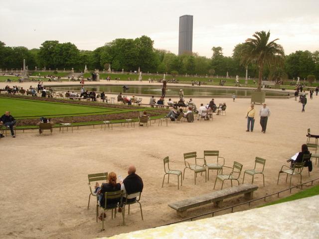 Paris, Jardin de Luxeumbourg