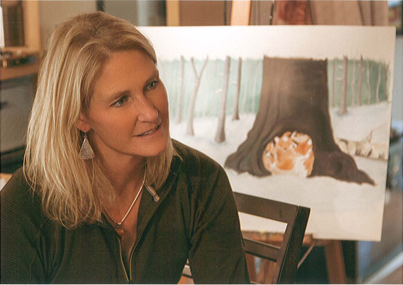 Heather Lynn Harris - Heather earned her Master of Fine Arts degree from San Francisco's Academy of Art University. She paints landscape, figure, and portrait, but her favorite is children's picture book art. She enjoys creating art that engages and delights children through the telling of a story. She has three published picture books: The Swing, Clover and The Shooting Star, and Five Hungry Mice. She plans to continue to create pictures and stories for children as long as there are children who love stories and pictures.See more of Heather's illustration work here.