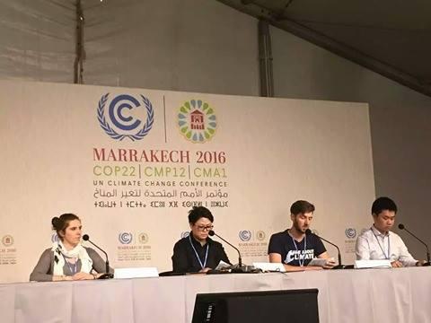 BHS Alum in Marrakech for UN Climate Talks