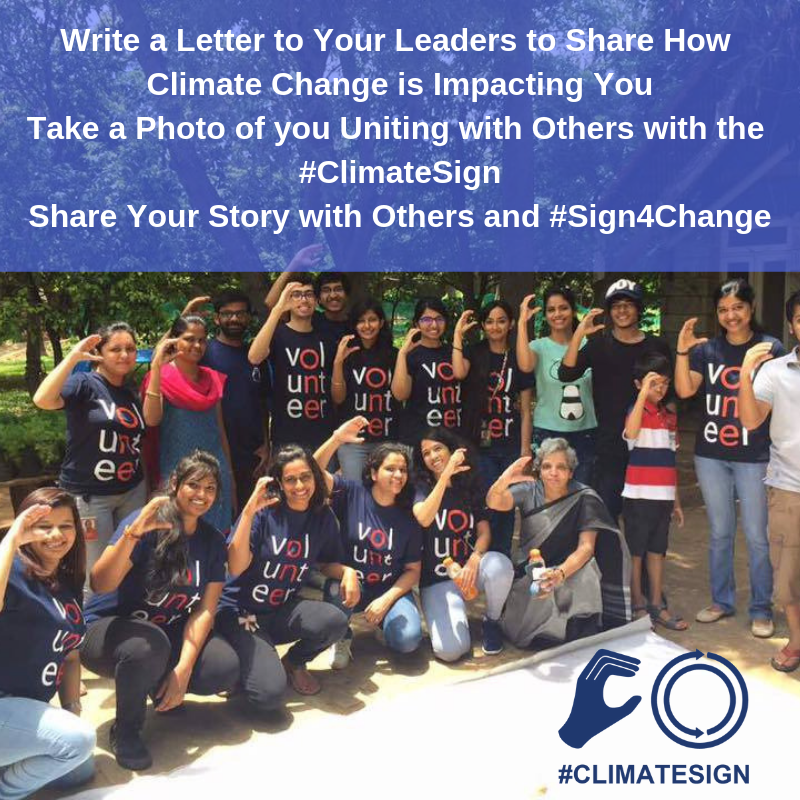 Write a Letter to Your Leaders to Share How Climate Change is Impacting You Take a photo of you uniting with others with the #ClimateSign Share your story with others.png