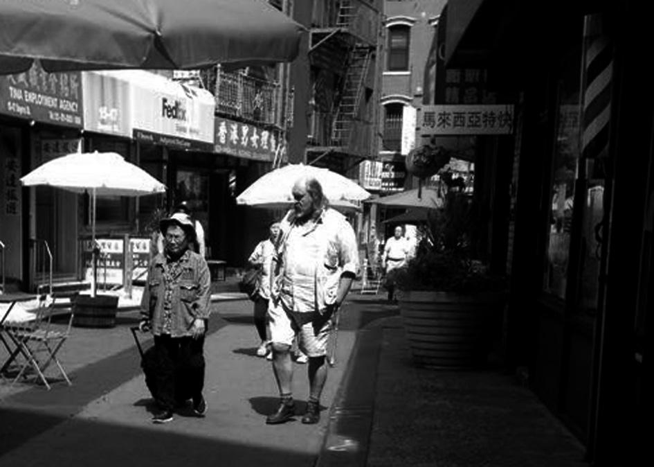 En Chinatown, Nueva York. Setiembre de 2017.