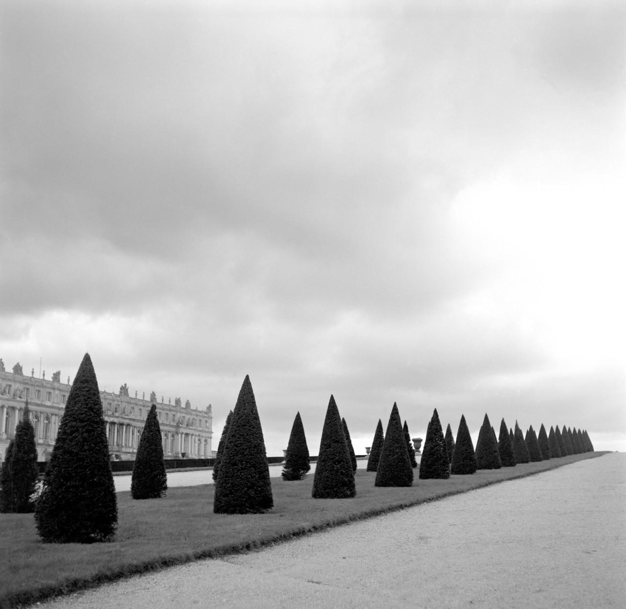 Versailles y sus jardines, otro de los sitios ideales para un picnic con  baguettes .