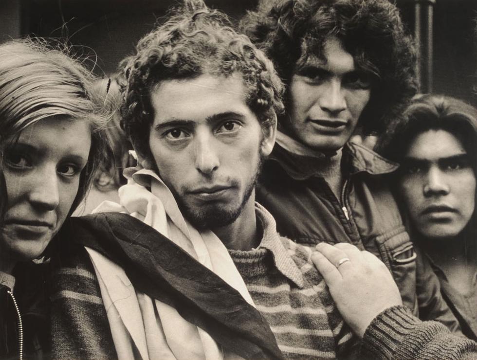 Los muchachos peronistas , fotografía de Sara Facio.