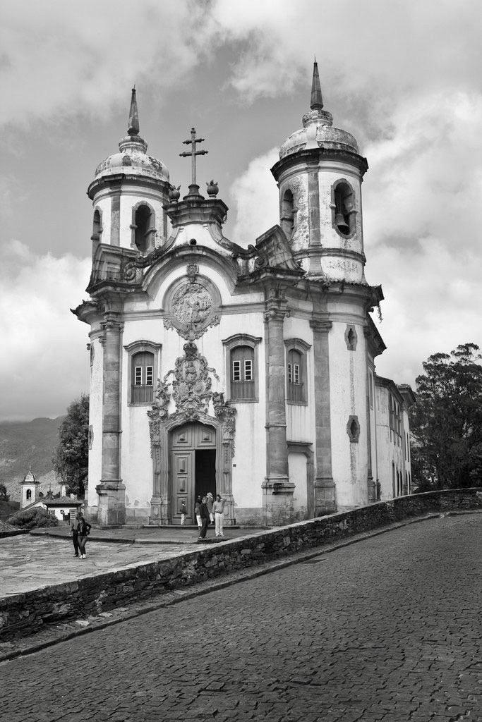 Iglesia de Sao Francisco de Assis, Ouro Preto.