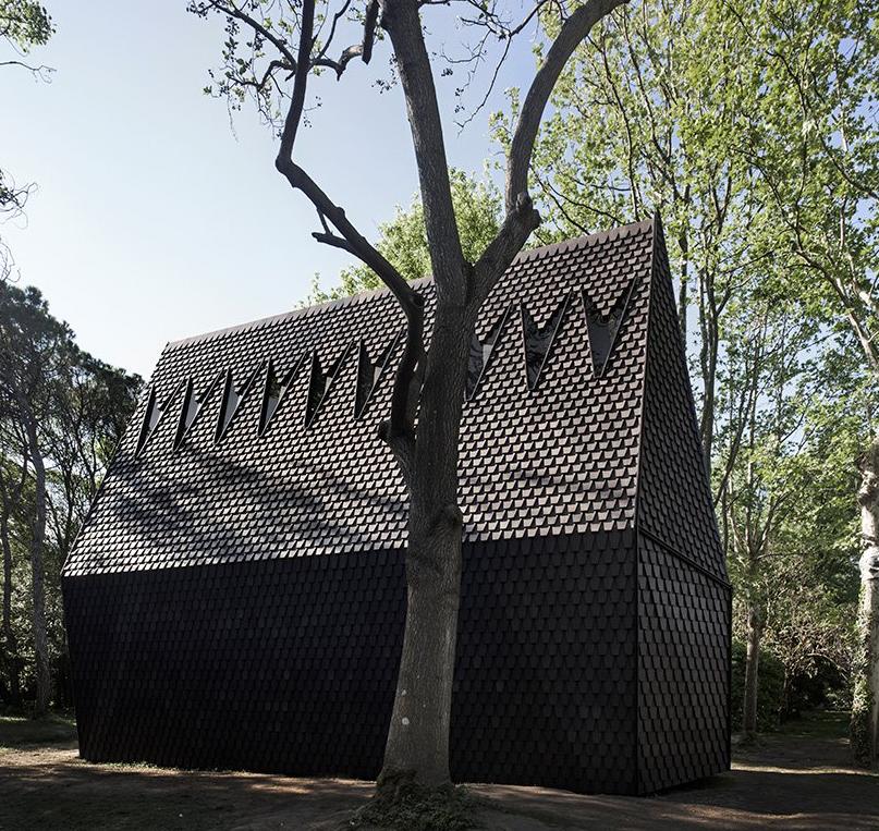 MAP Architects recreó la famosa capilla del sueco Gunnar Asplund.