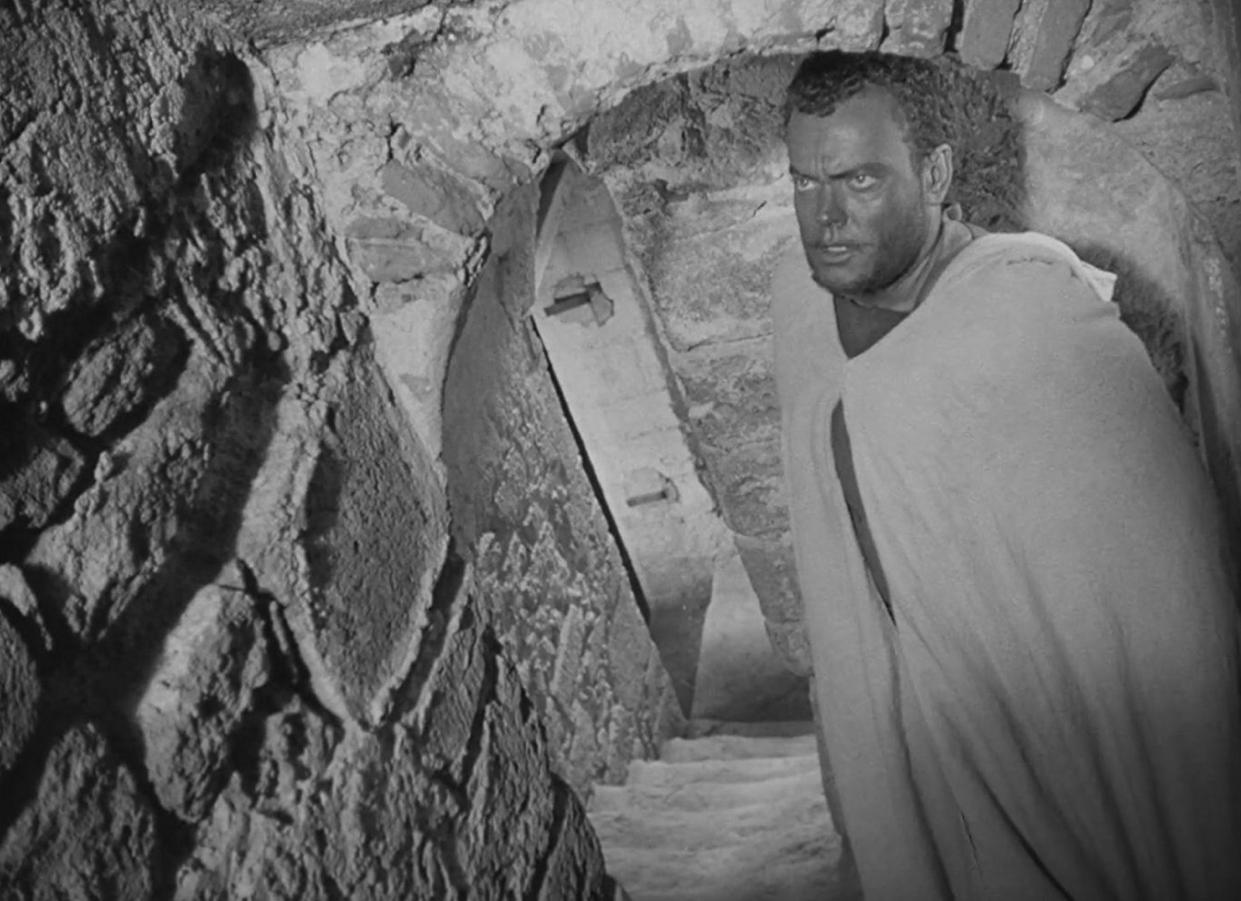 Orson Welles, director y actor de su  Othello  rodada en Essaouira.