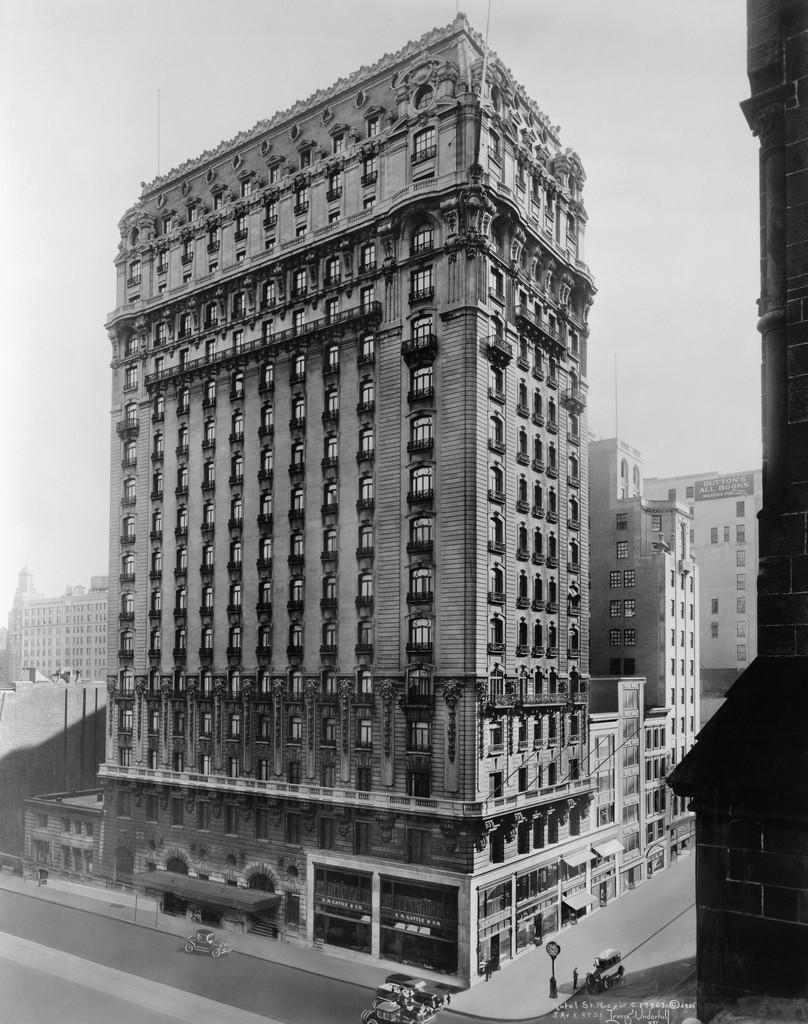 El edificio, inaugurado en 1904, supo ser el hotel más alto de Manhattan.