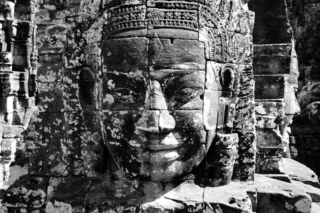 Bayon: un bosque de cabezas en honor al rey-dios que todo lo ve.
