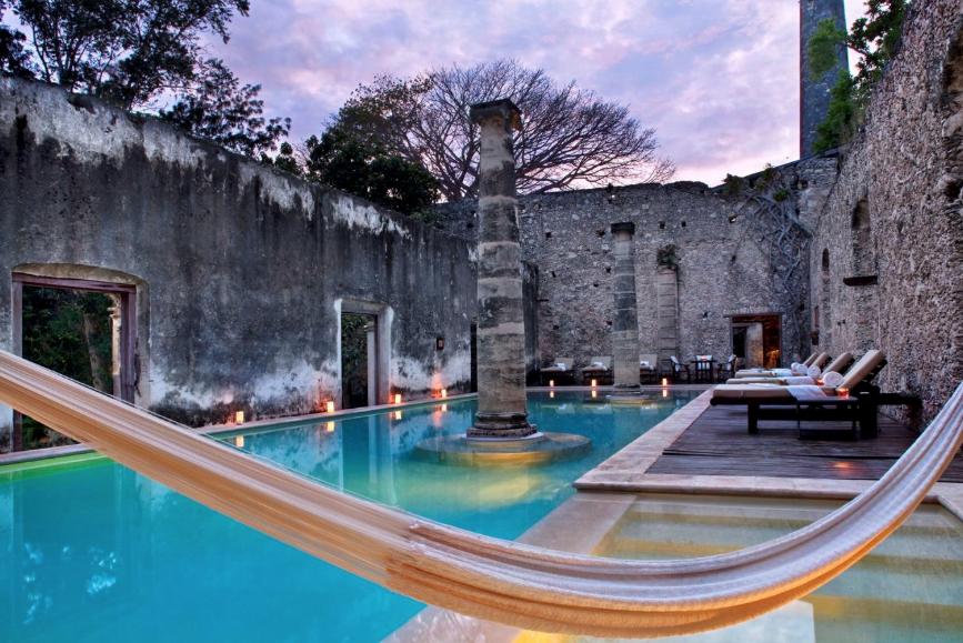 Hacienda Uayamón , Yucatán.
