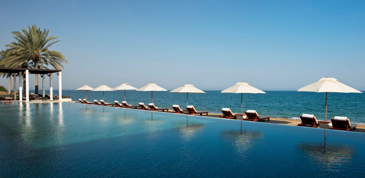 The Chedi Muscat , Omán.