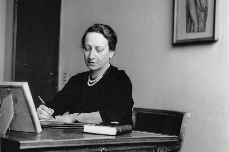 Fernanda Wittgens, primera mujer en dirigir la  Pinacoteca de Brera .