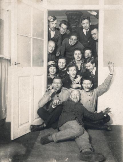 Creativos en acción en la Bauhaus Weimar.