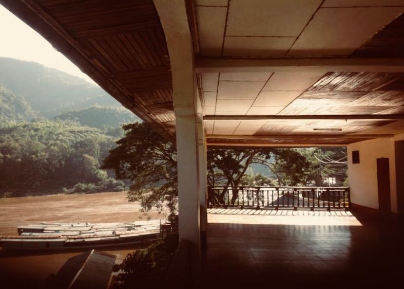La terraza de Villa Sarika.