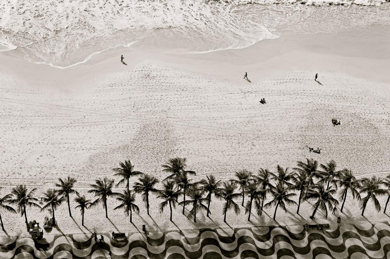 Las veredas de Copacabana, de clara inspiración lisboeta.