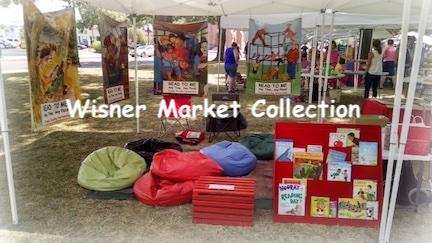Wisnor Market Family Reading Partnership tent