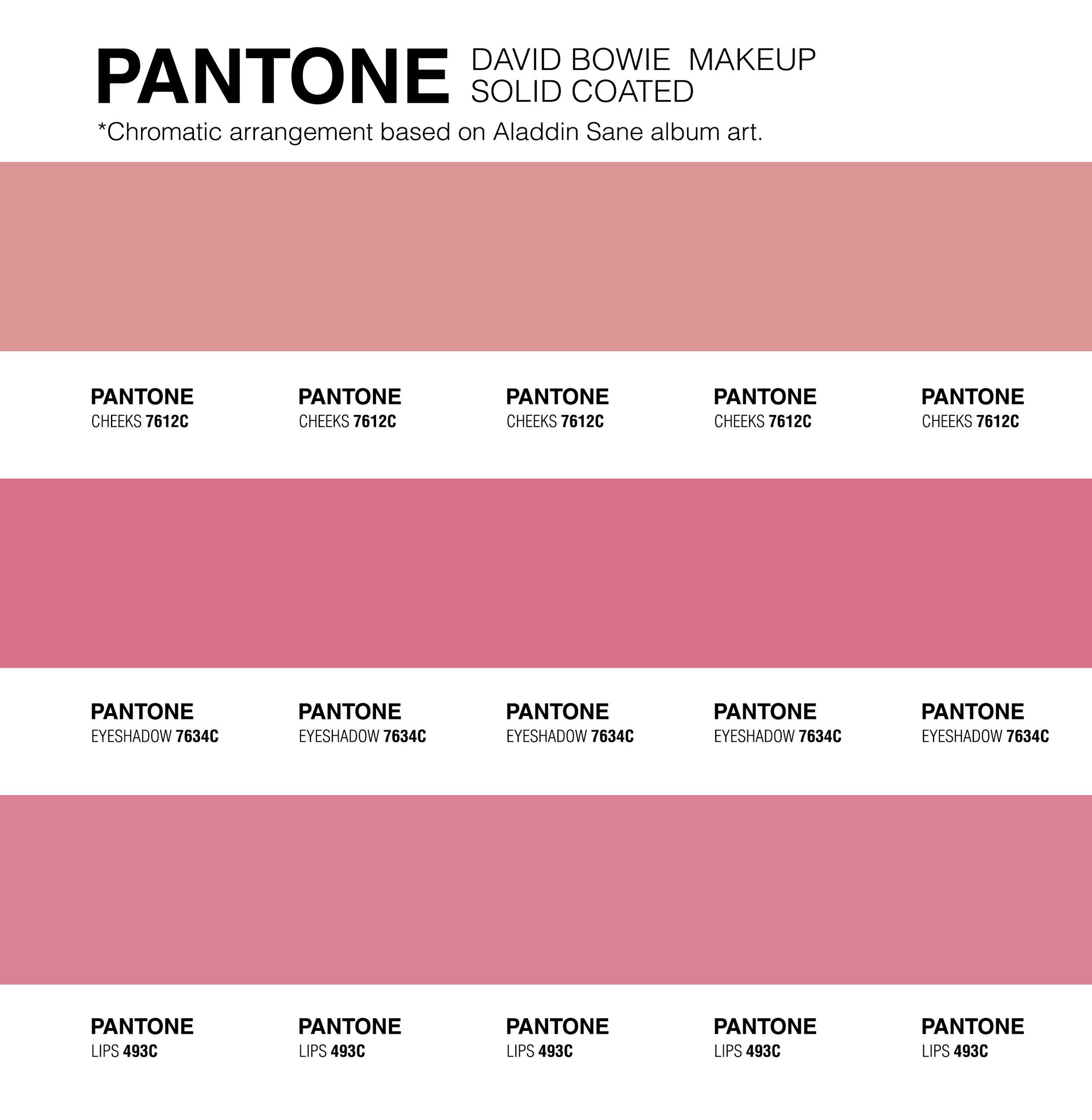 Pantone Makeup