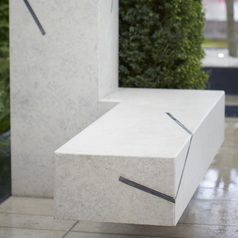 Colm Joseph RHS Chelsea limestone cantilevered seat garden design.jpg