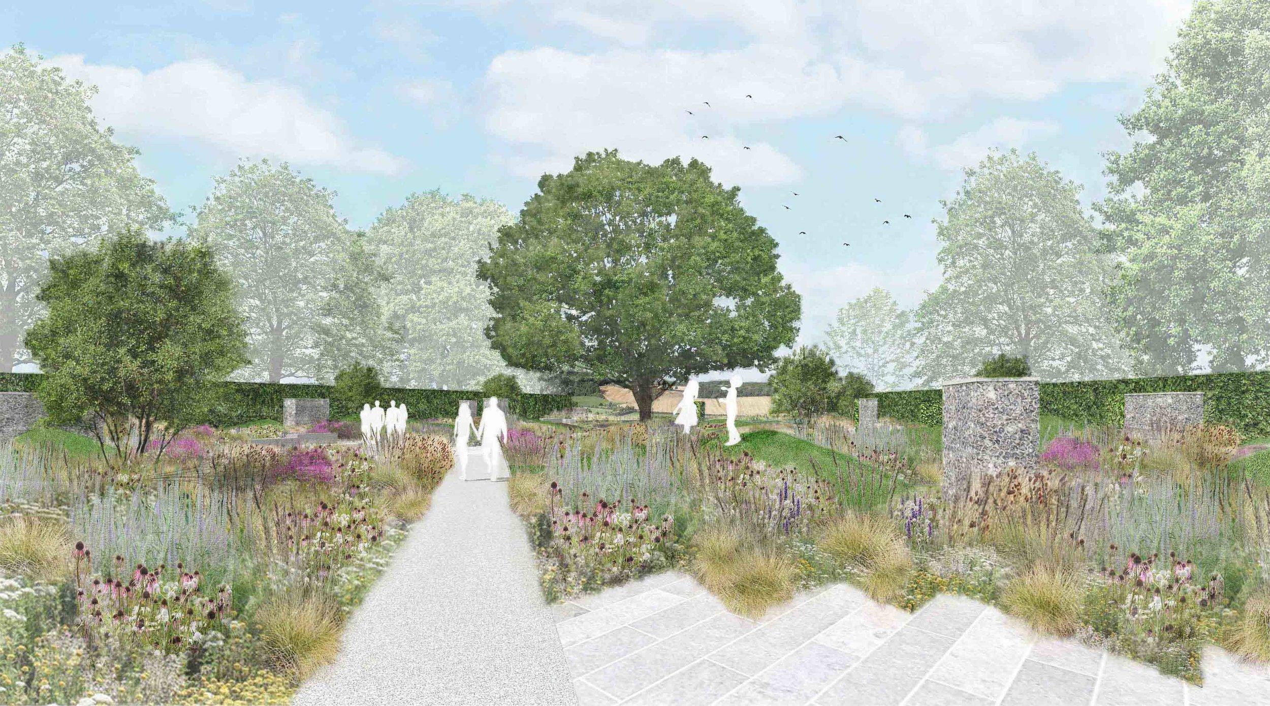 contemporary family garden ornamental meadow.jpg