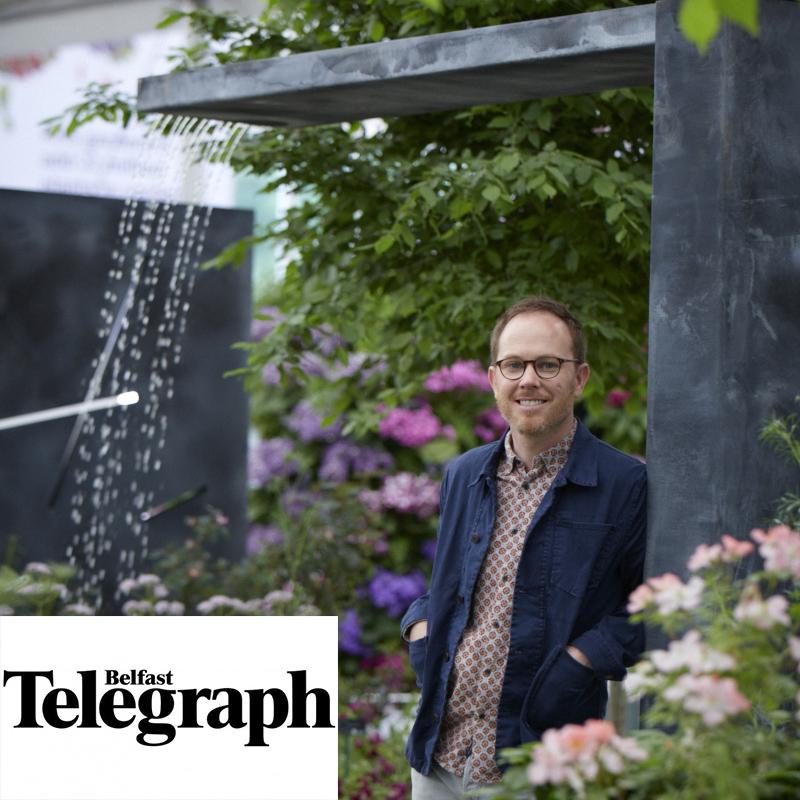 Colm Joseph belfast telegraph article chelsea award-winning garden designer.jpg