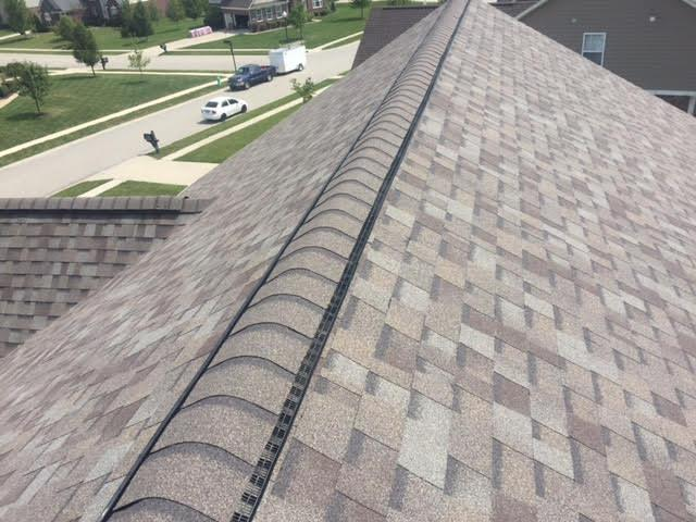 Ridge Vents - The small vents, allowing air to prevents attic heat builup