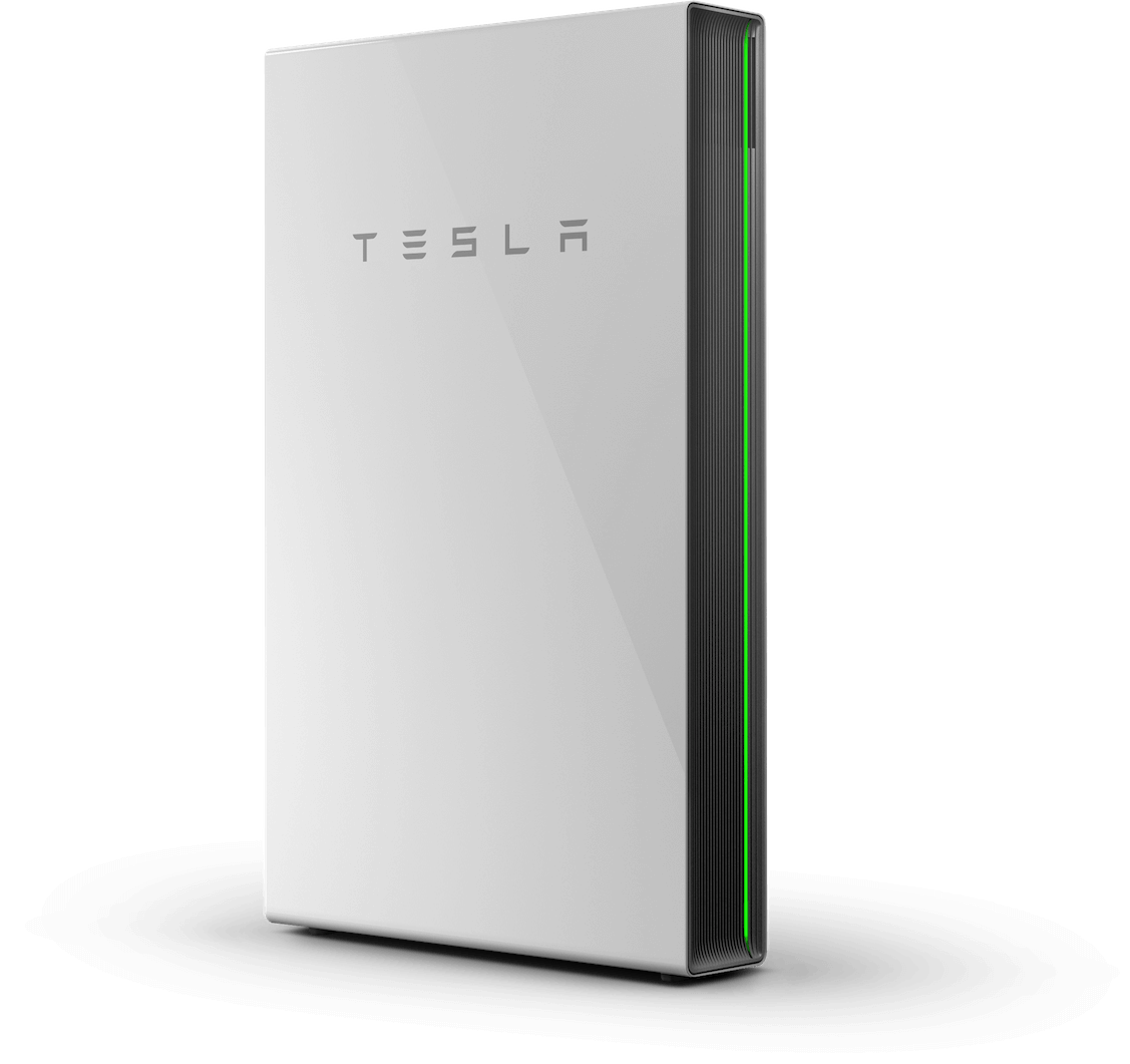 Tesla Powerwall - Stores Energy and 100% Self Powered