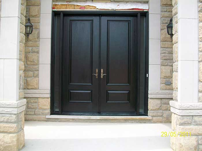 Solid Wood - Double Door Entry
