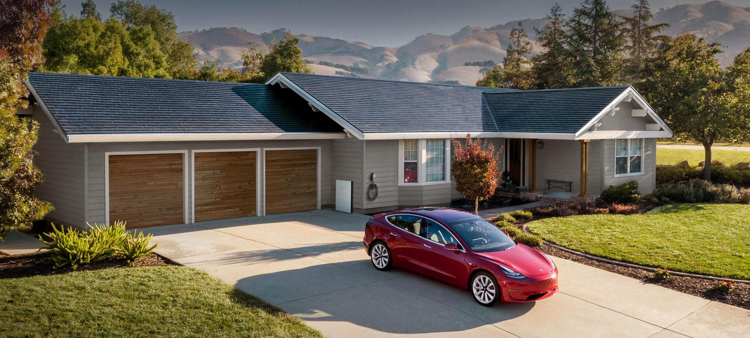 Tesla Solar Shingles