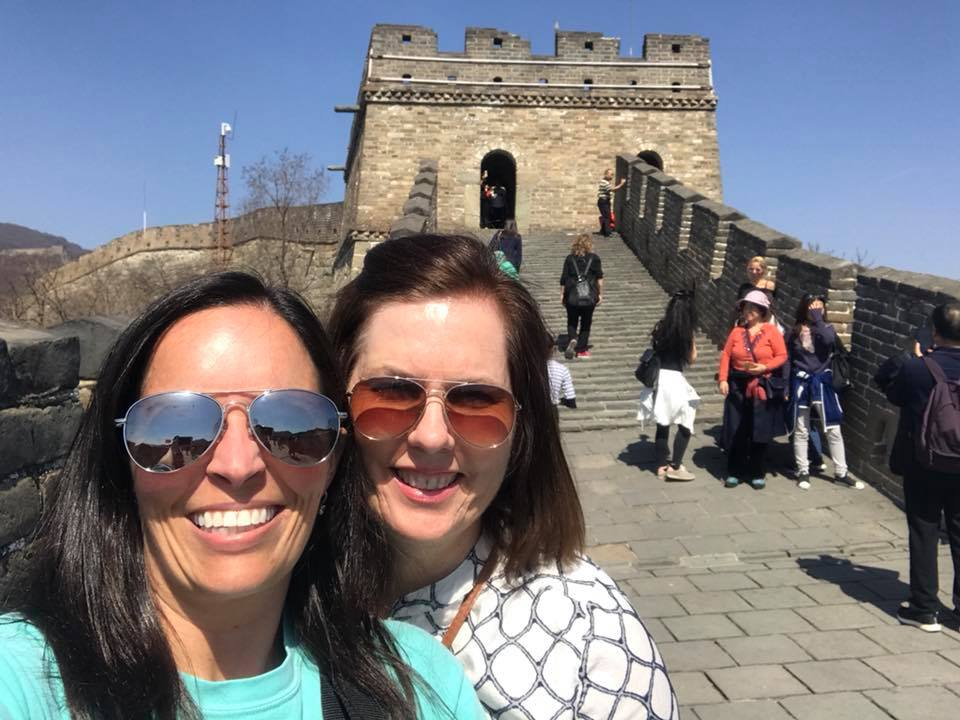 Great Wall of China - One of the first images that comes to our mind when someone says China is the Great Wall. One word describes it - Ginormous!!!!