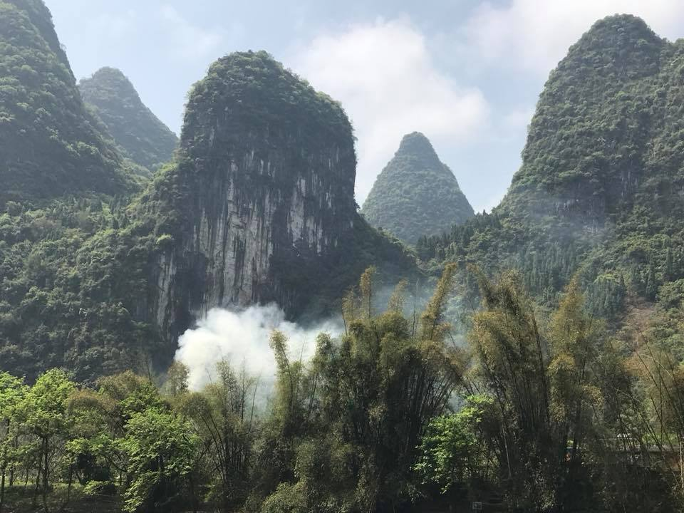 Enchanting - Don't miss this opportunity to see one of the most scenic areas of China along the Li River. This poetic landscape appears in paintings by great artists near and far. The Karst formations reach up from the blue waters to the blue skies. Truly breathtaking.