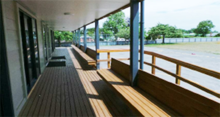 The new design makes the most of indoor and outdoor learning spaces.