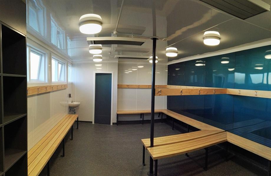 Opihi College Gymnasium Change Rooms