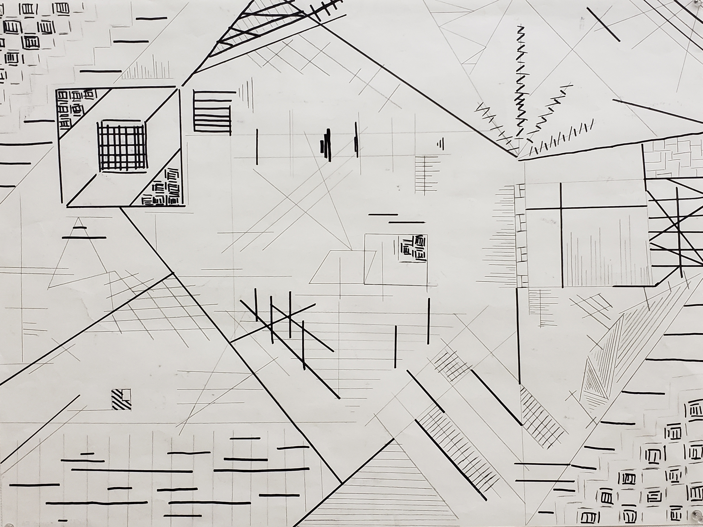 1,000 Mark Drawing - Beginning Drawing