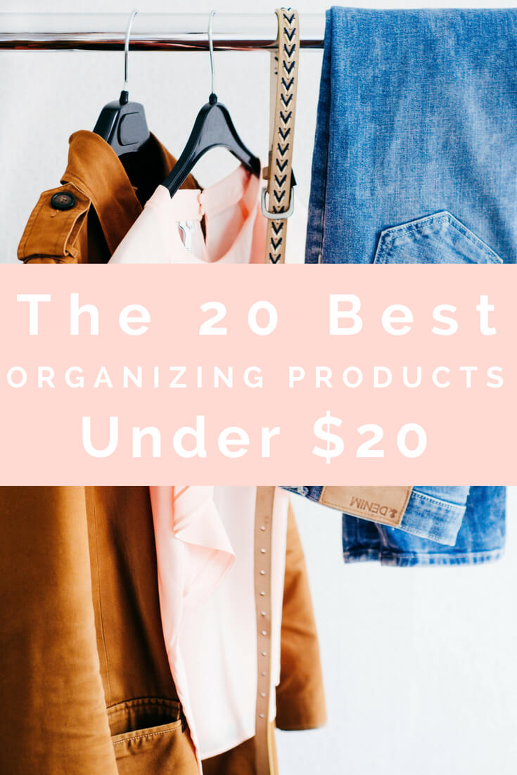 Download a free guide to my favorite organizing products! -