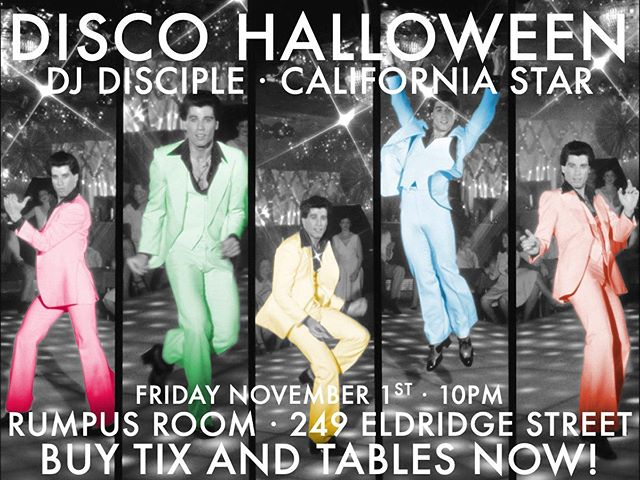 This dancing queen can't wait to DJ Rumpus Room DISCO HALLOWEEN 11/1!!📀👀Come boogie down with me to the best of disco and all your DJ California Star favorites⭐️👏🏻💃 DM me for tables and tickets!