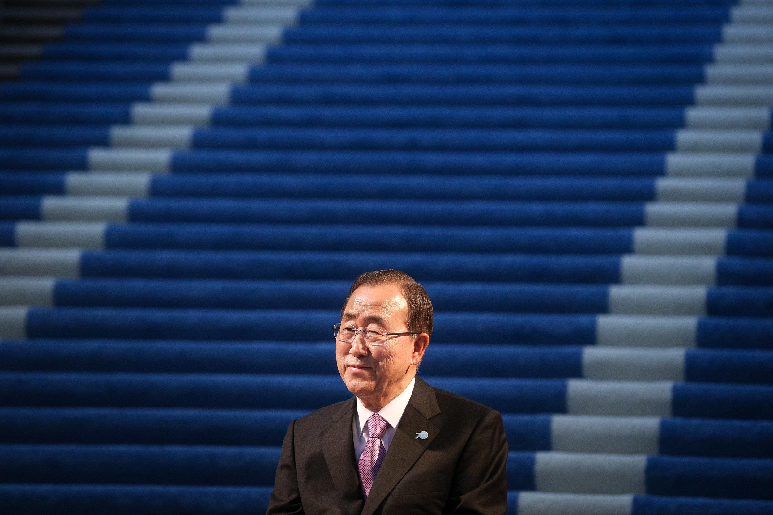 Ban Ki-moon, eighth Secretary-General of the United Nations
