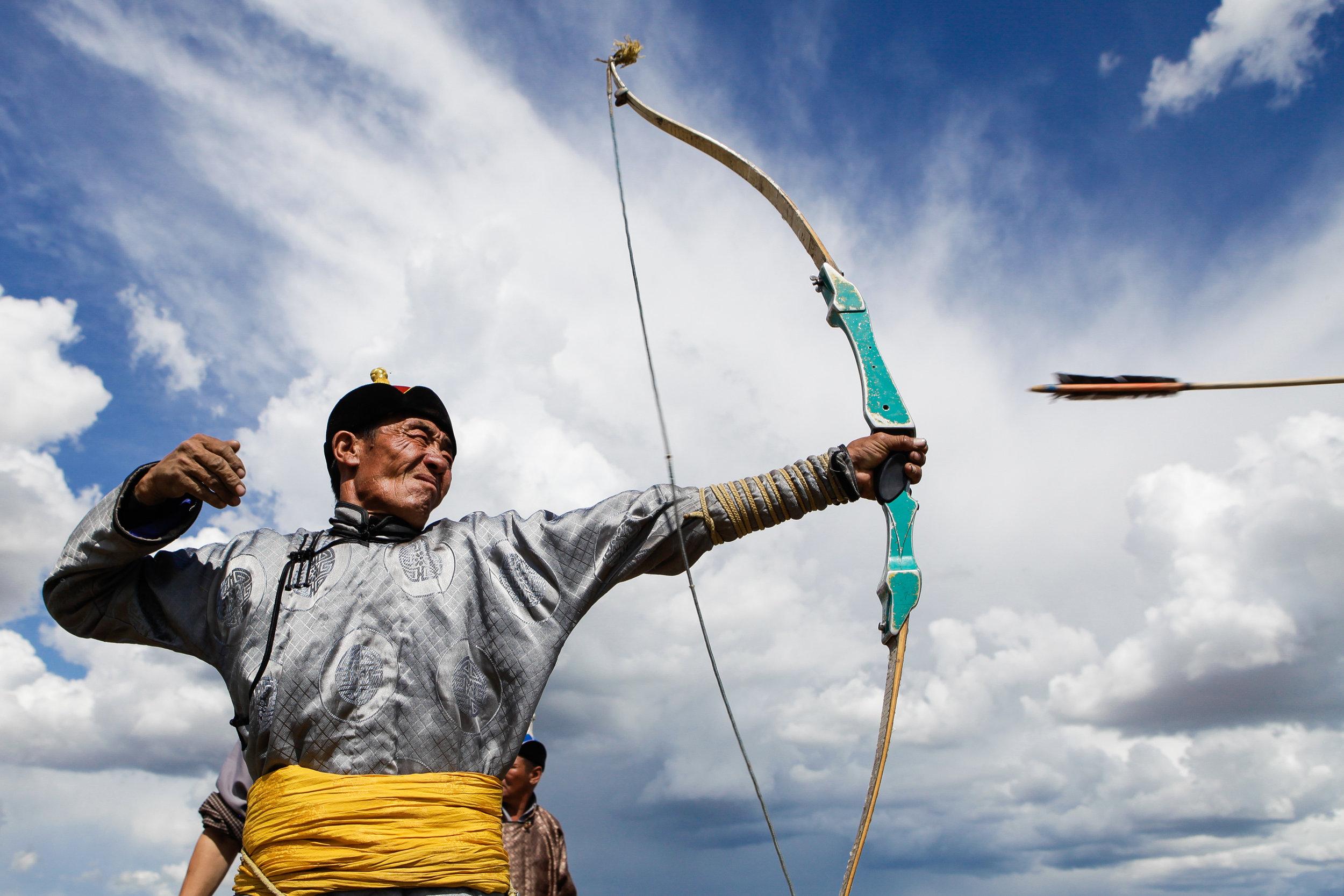 Archer, Mongolia