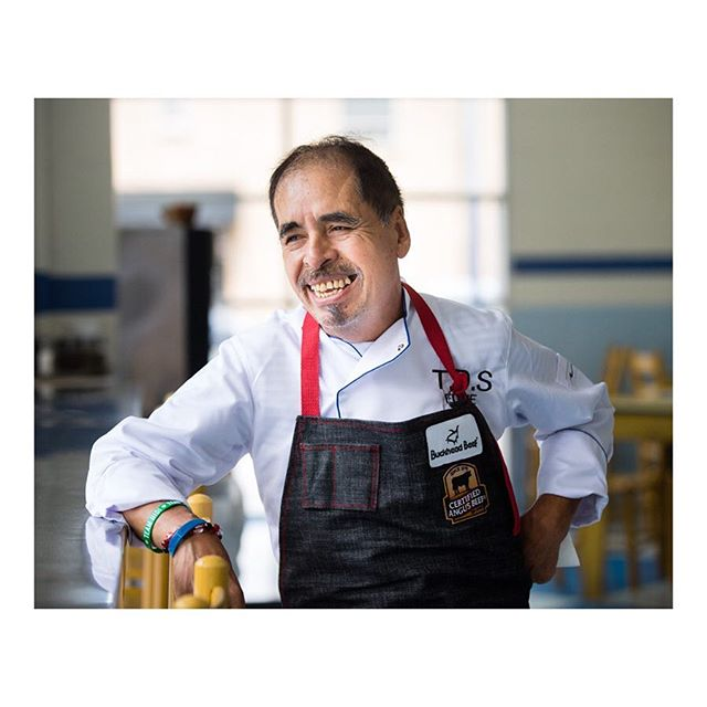 """—-  swipe left for more ——  ⠀⠀⠀⠀⠀⠀⠀⠀⠀ I was on a bit of an instagram hiatus for a large part of last year so if you saw this story when it ran last fall please forgive the late post. // Part 1 of 2 ⠀⠀⠀⠀⠀⠀⠀⠀⠀ """"Eddie Hernandez, the award-winning chef and co-owner of the popular @taqueriadelsol restaurants in Georgia and Tennessee, didn't plan on cooking. At 17, he emigrated from Mexico to play music. ⠀⠀⠀⠀⠀⠀⠀⠀⠀ After pursuing the musician's life for over a decade, he was ready for a change. So Hernandez took a job as a waiter instead at an Atlanta-area restaurant called El Azteca. When he told the managing partner, Mike Klank, — """"who's 100 percent American from Memphis, Tennessee,"""" that the Mexican food they served was all wrong, he was put in charge of the kitchen. ⠀⠀⠀⠀⠀⠀⠀⠀⠀ Decades later, Hernandez and Klank have seven locations across Georgia and into Tennessee and they've been nominated for multiple James Beard awards. ⠀⠀⠀⠀⠀⠀⠀⠀⠀ Hernandez's rise to acclaimed restaurateur may be unique, but not his beginnings in the kitchen — walk into so many of America's restaurants and there's a good chance at least one of the cooks is Latino. As the number of Hispanic cooks rise through the ranks, they're diversifying the restaurant industry and helping redefine the increasingly fusion-style American cuisine."""" ⠀⠀⠀⠀⠀⠀⠀⠀⠀ From the @nbcnews Generation Latino story """"Is your favorite sushi chef Mexican? Growing numbers of Latino chefs reinvent American cuisine"""" ⠀⠀⠀⠀⠀⠀⠀⠀⠀ Many thanks to @nataliajimenez for thinking of me for this."""