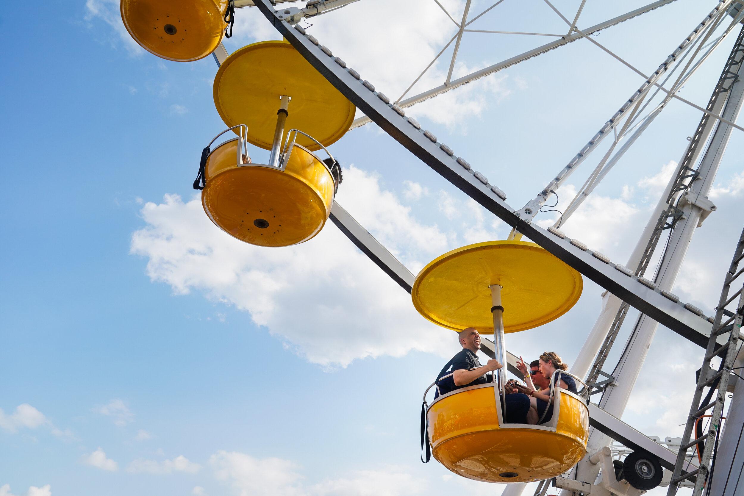 Cory Booker, Iowa State Fair