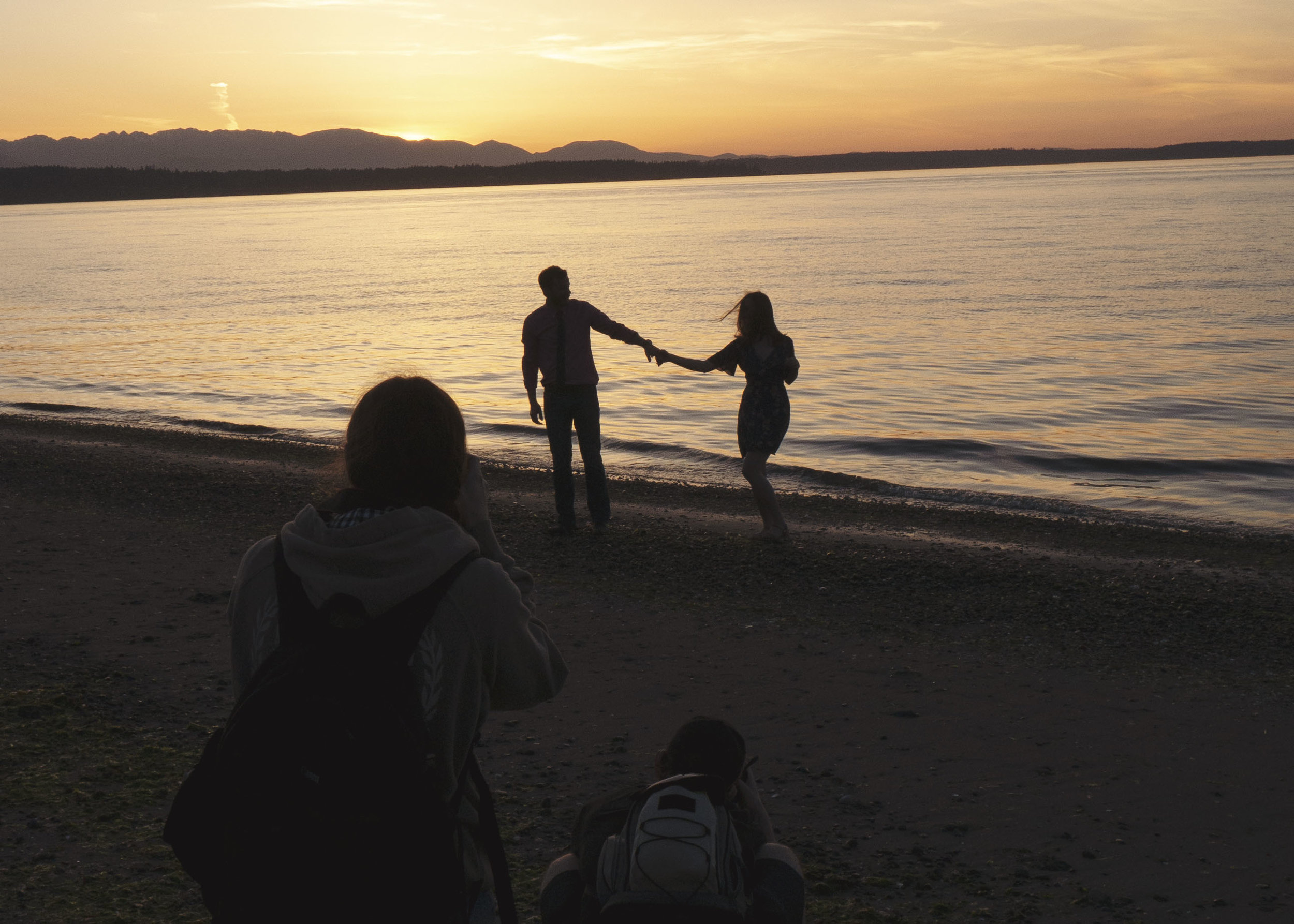 The best dance session in front of a gorgeous sunset! | Photo Credit by Rogan Shannon