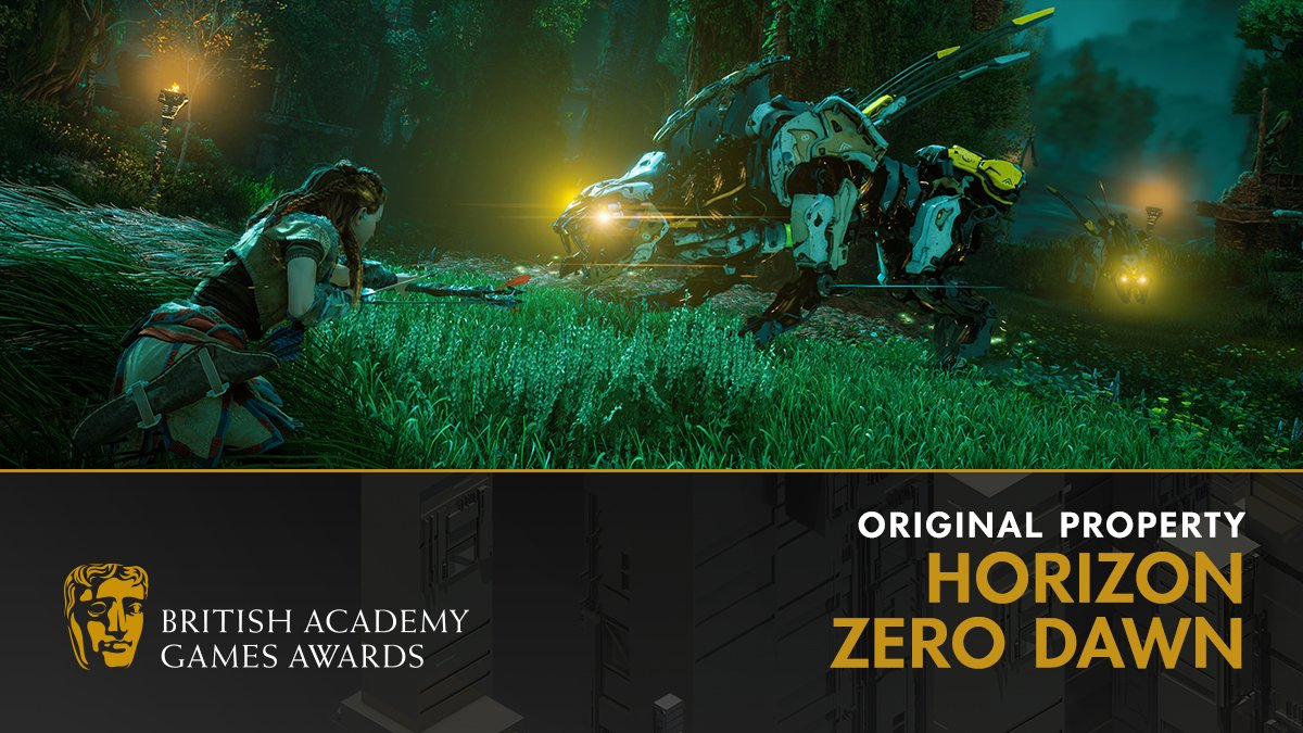 BAFTA Games 2018 Horizon Zero Dawn Guerrilla Games