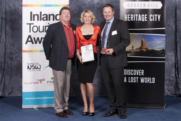 Tourism Restaurants and catering Services Winner - The Gol Gol Hotel