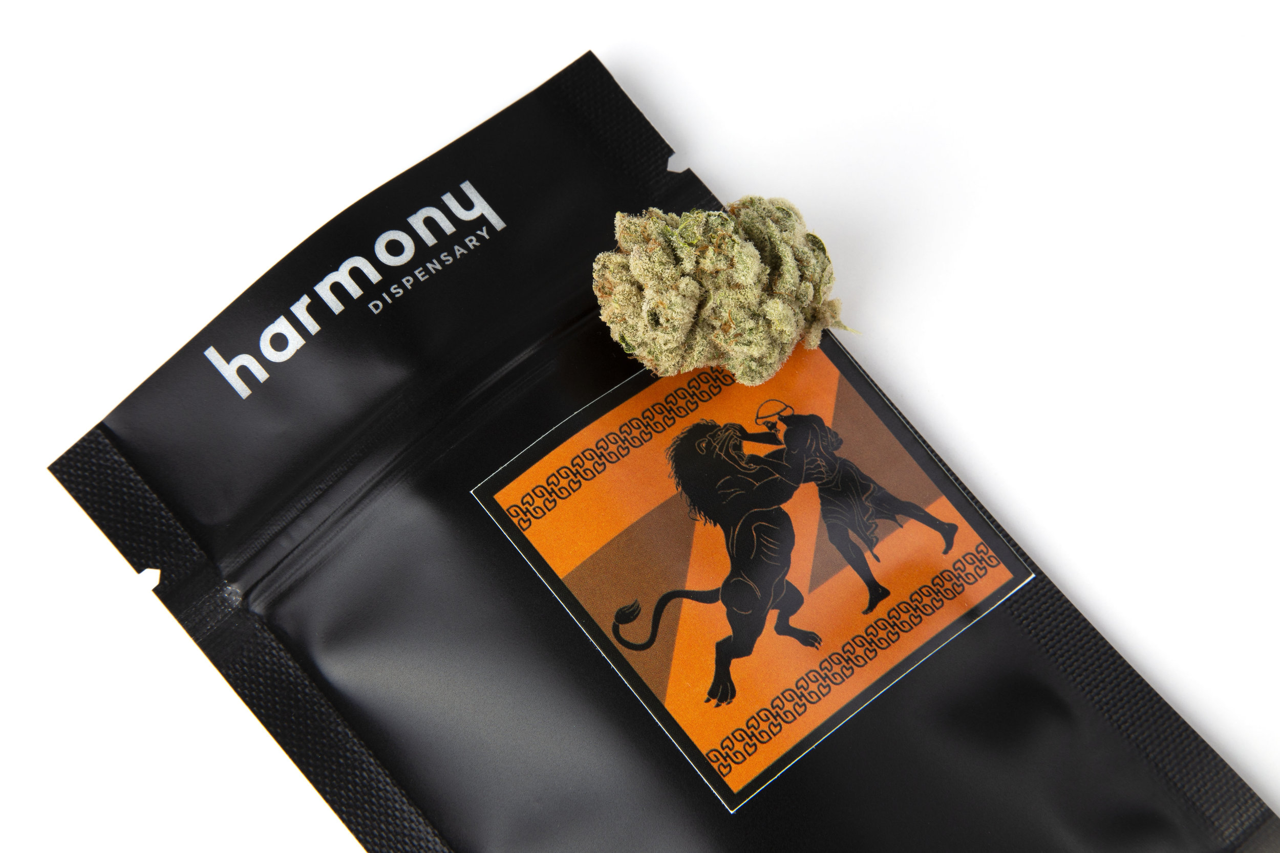 Black Bag - Our Black Bag Line of product is packaged in custom light and smell proof polyethylene black bags, and is in whole flower form. People who enjoy the ritual of breaking up and smoking top shelf flower will enjoy our Black Bag Line.