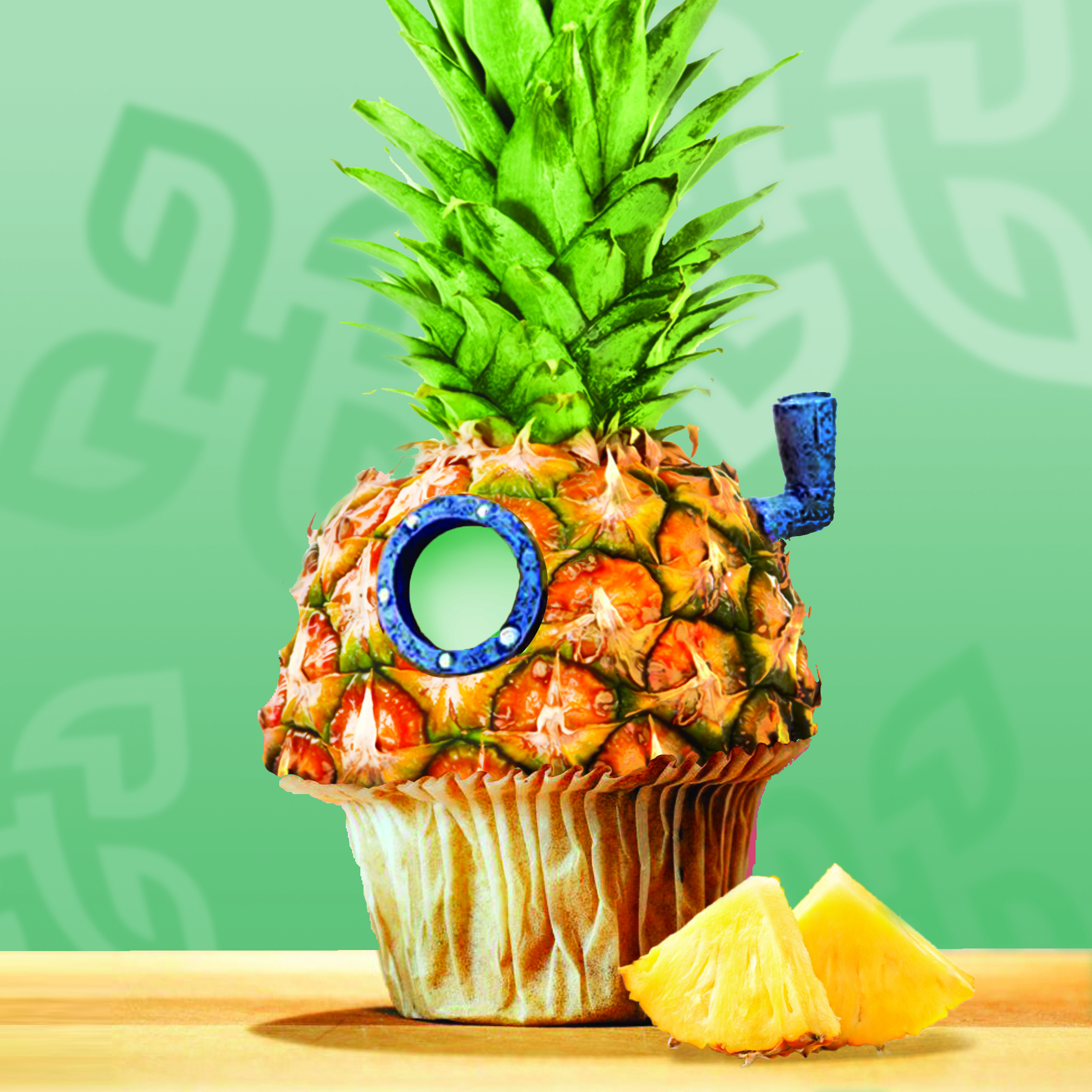 Pineapple Muffin
