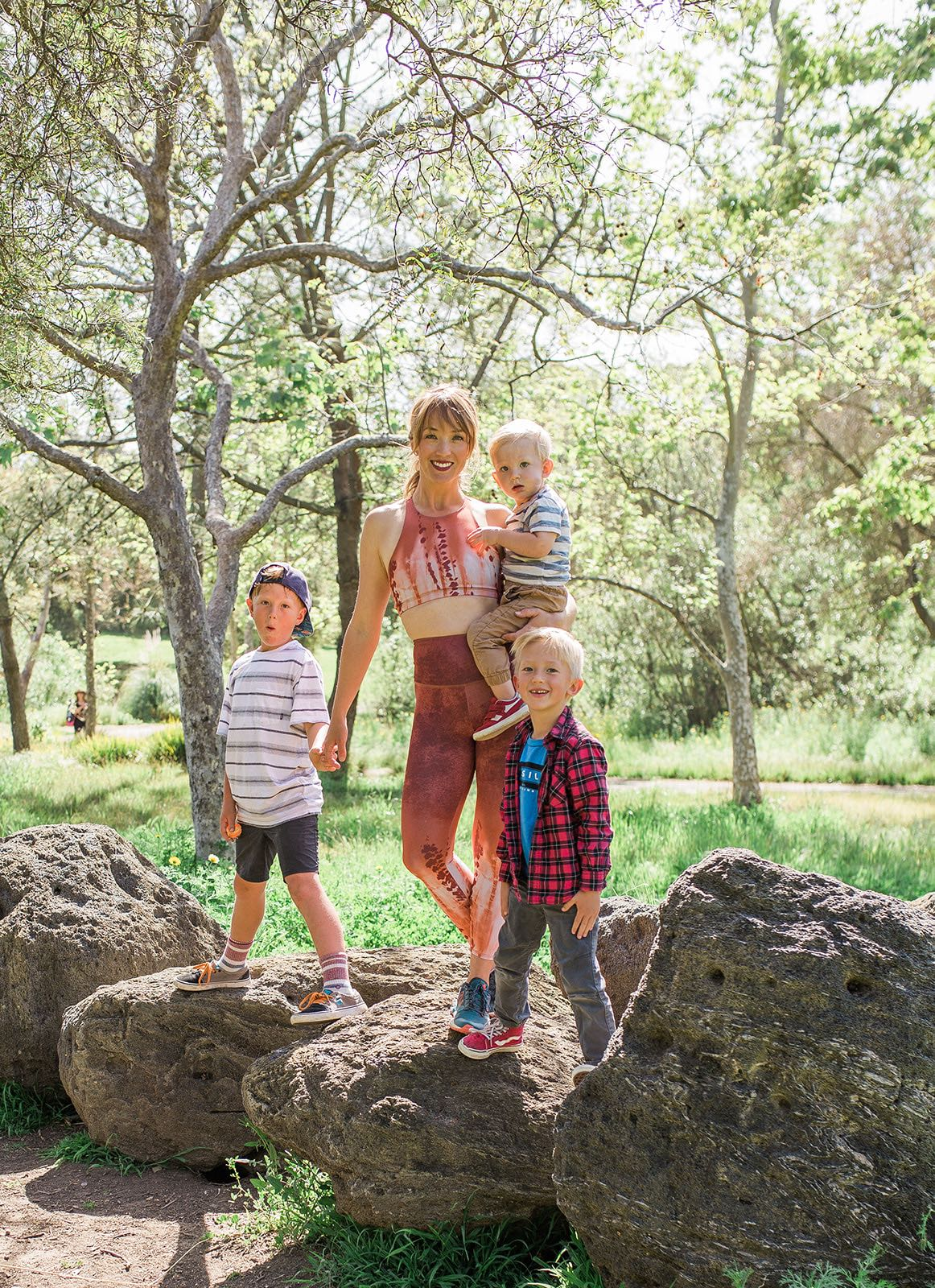 "We're So Happy You're Here....... - Hi! Thanks for checking out The LiveLife Movement, we have a lot of awesome goodness to share with you. My name is Leah Stewart (that's me with my three wonderful boys). I created The LiveLife Movement for three distinct groups:1. Mamas and Women seeking a healthy, empowered womanhood experience,2. Pilates teachers seeking quality education resources, and3. Women seeking a faith-based movement experience.Whether you are in one or all three of these groups, The LiveLife Movement provides you with the resources to better connect with your body and to start living a healthy ""movement lifestyle"" that will propel you into living the life you dream about. Seriously! Movement can do that!"
