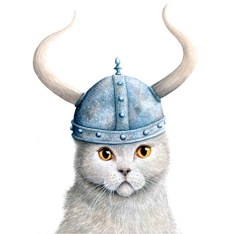 Viking Cats and Dogs
