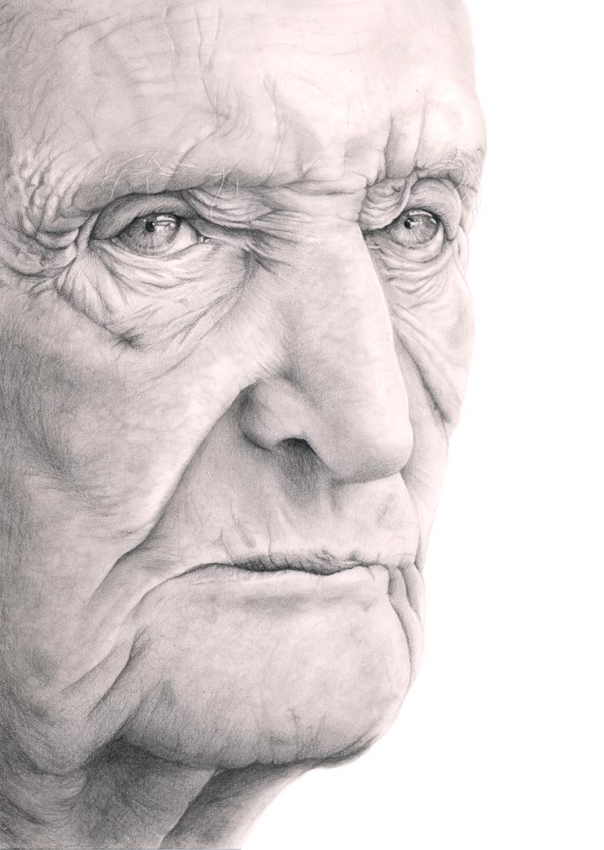 Commissioned Pencil Portrait
