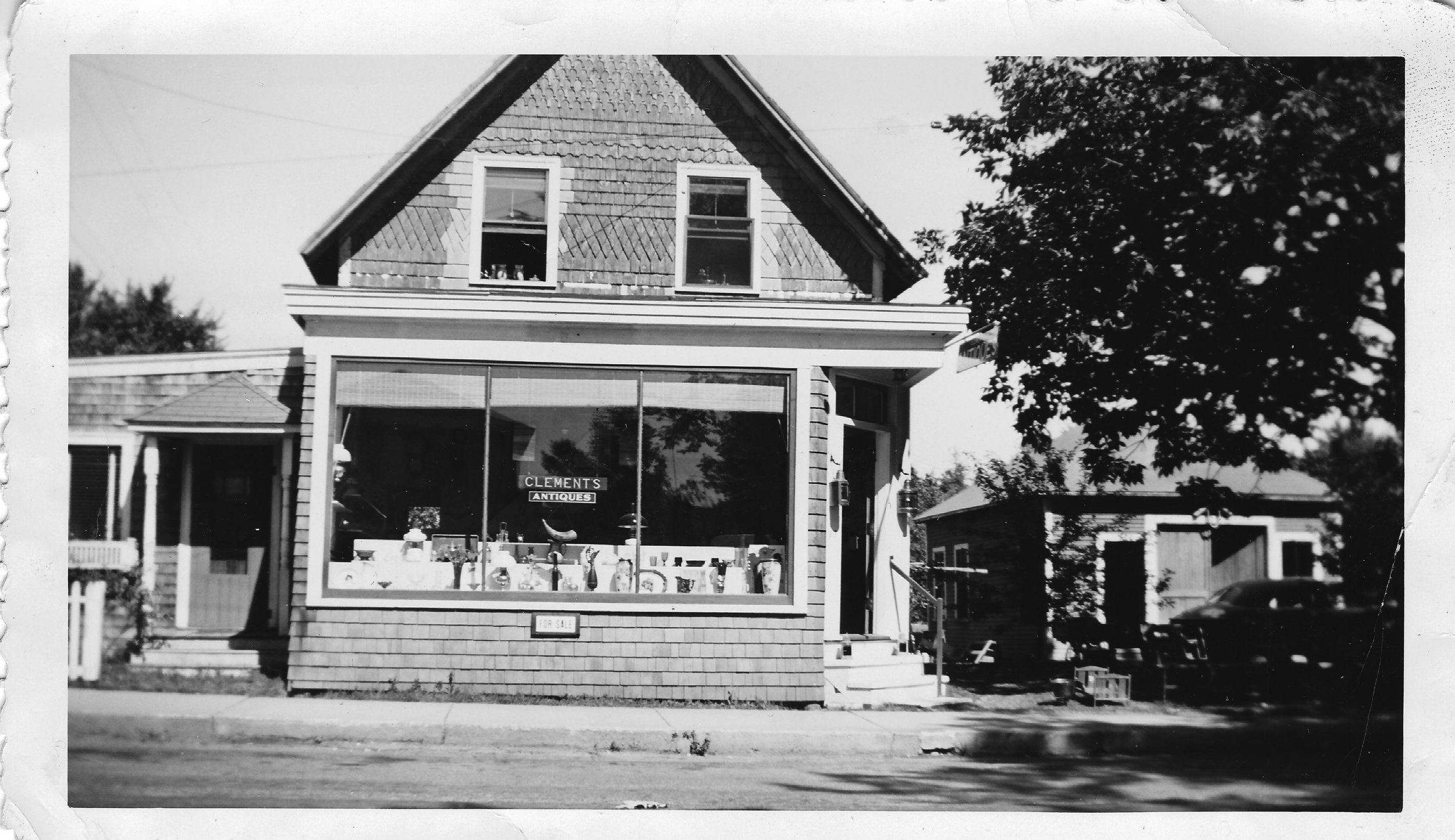 Circa 1930's or 40's. 318 Main Street Bar Harbor was once Clements Antique long before it was Havana.
