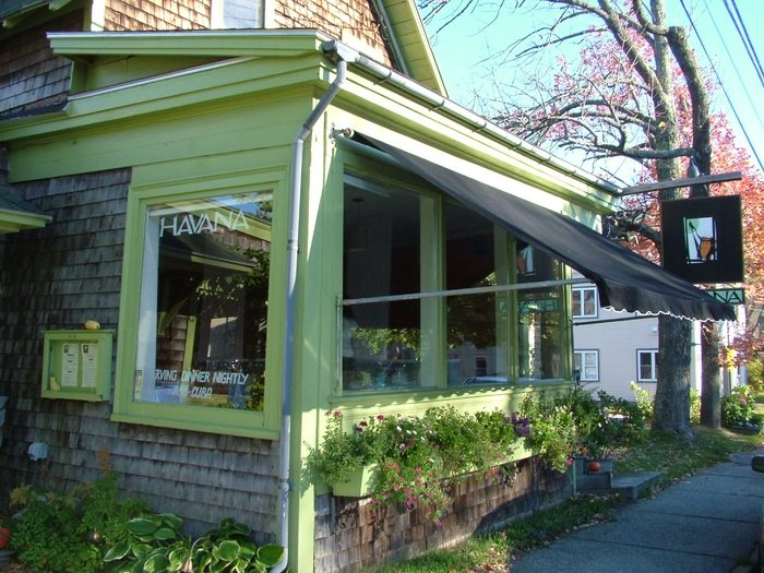 HAVANA - Listed as One of Top Ten restaurants in Maine.